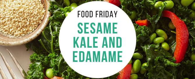Sesame Kale and Edamame