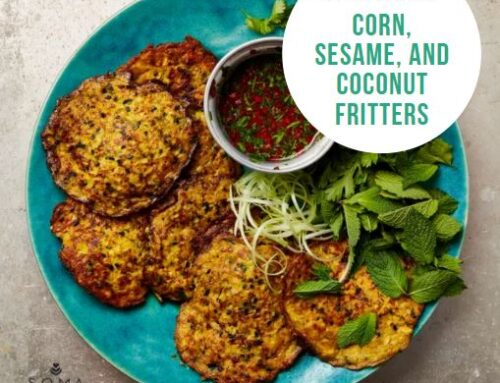 Food Friday Recipe: Corn, Sesame, and Coconut Fritters