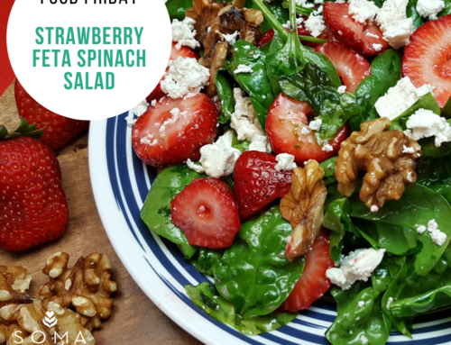 Food Friday Recipe: Strawberry Feta Spinach Salad
