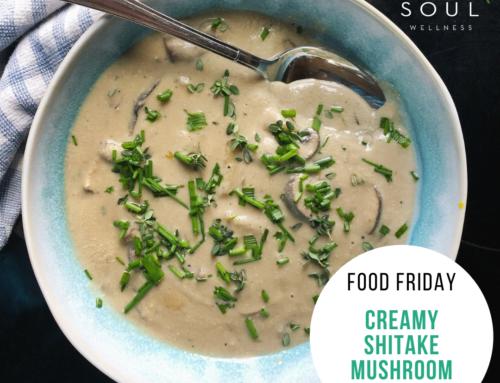 Food Friday Recipe: Creamy Shitake Mushroom Soup