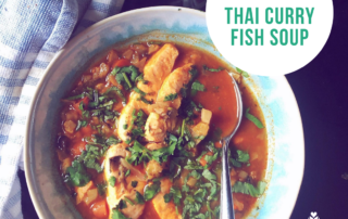 Thai Curry Fish Soup