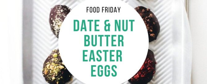 Date & Nut Butter Easter Eggs