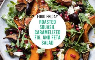 Roasted Squash, Caramelized Fig, and Feta Salad
