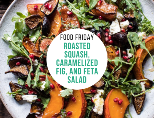 Food Friday Recipe: Roasted Squash, Caramelized Fig, and Feta Salad