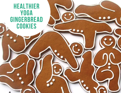 Food Friday Recipe: Healthier Yoga Gingerbread Cookies