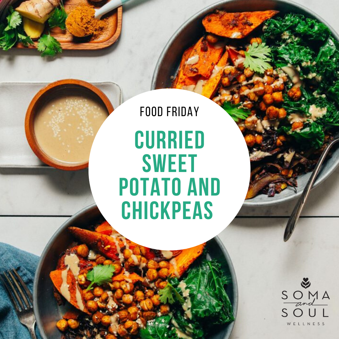 Food Friday - Curried Sweet Potato and Chickpeas