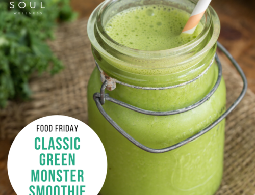 Food Friday Recipe: Classic Green Monster Smoothie