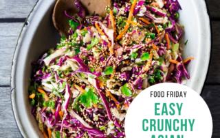 Easy Crunchy Asian Slaw
