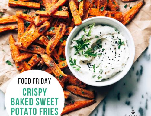 Food Friday Recipe: Crispy Baked Sweet Potato Fries