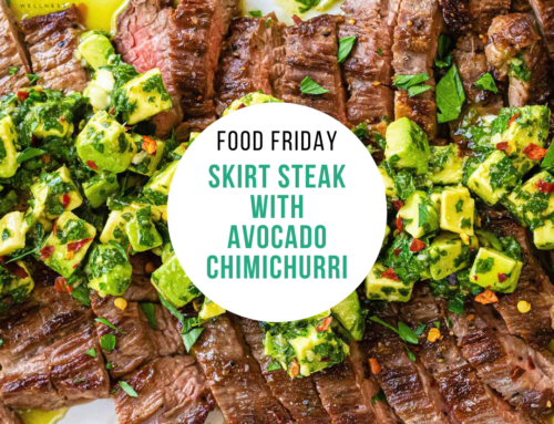 Food Friday Recipe: Skirt Steak with Avocado Chimichurri