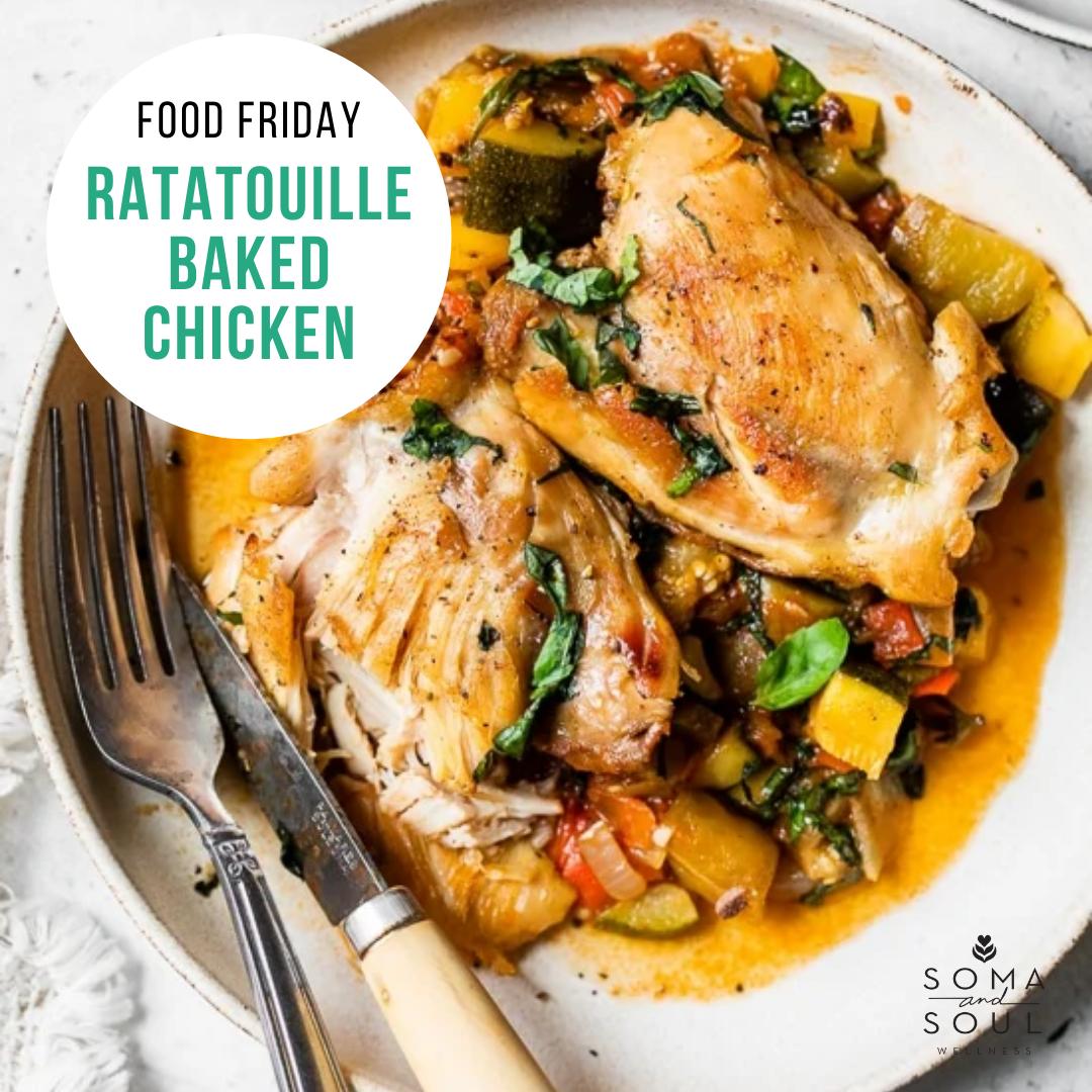 Ratatouille Baked Chicken