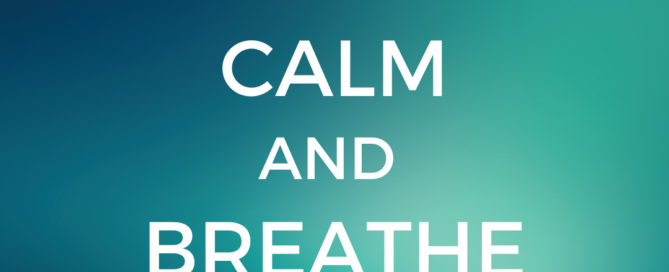 Keep Calm and Breathe On