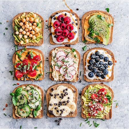 fast healthy breakfast toast